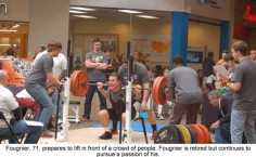 71 year-old captured an overall silver medal and several other medals at the 2014 International Powerlifting Federation World Championships
