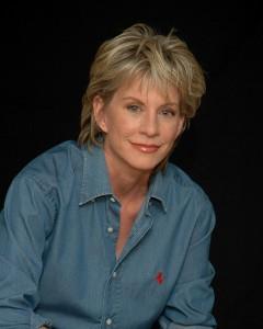 Crime novelist Patricia Cornwell,