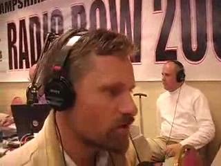 Viggo Mortensen at the 2008 TRNS Radio Row in Manchester, NH.