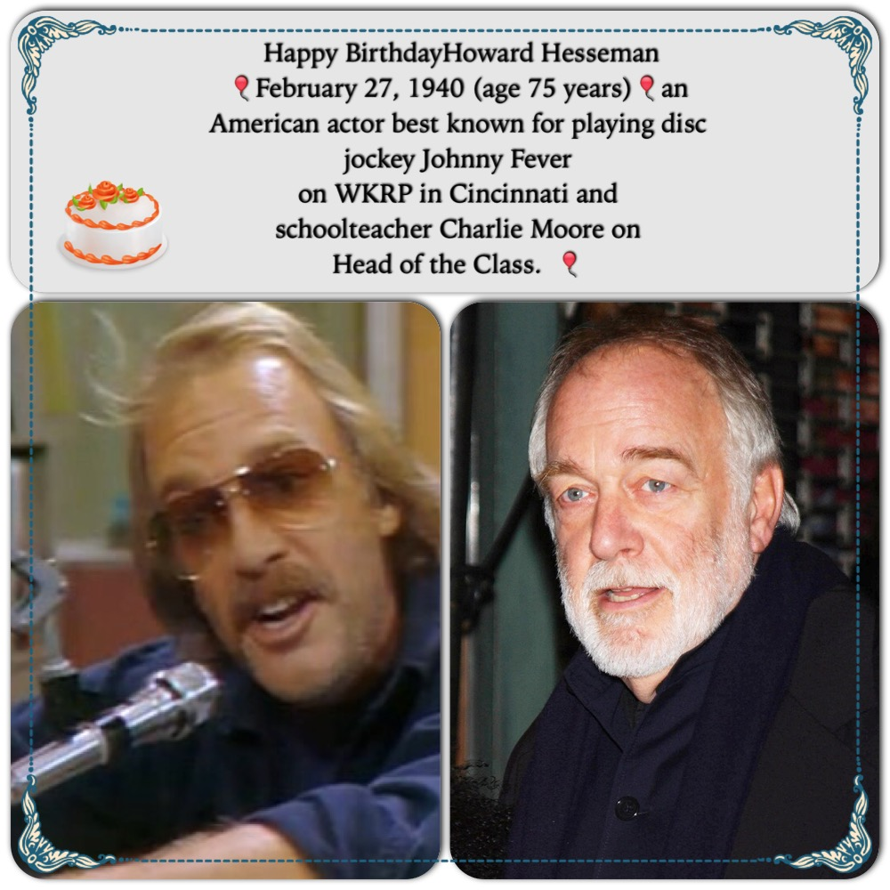 Happy Birthday to Howard Hesseman!