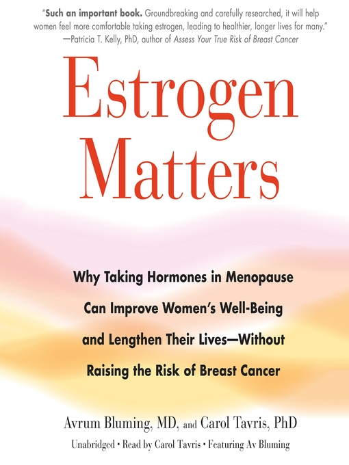 Estrogen replacement What are we to believe?