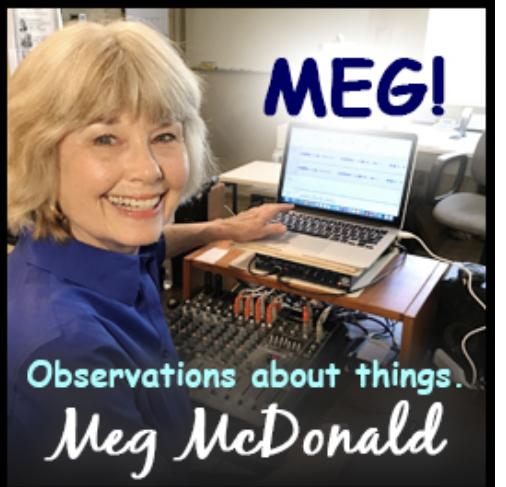Meg McDonald is enjoying a second career as a talk radio commentator.