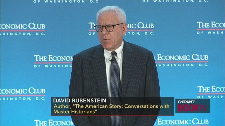 Carole Marks with David M. Rubenstein (The American Story)