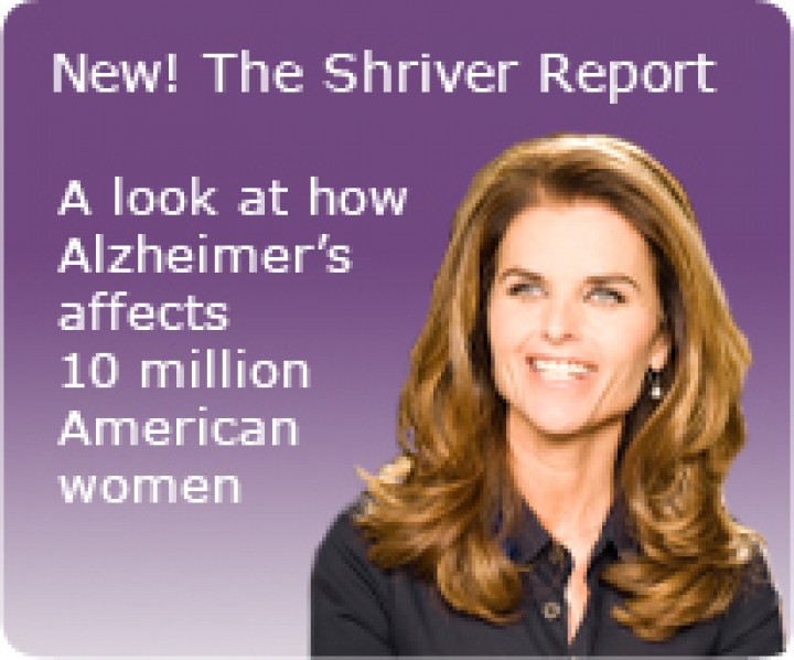 Maria Shriver's father, Sargent, was diagnosed with Alzheimer's in 2003.